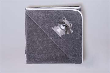 Kapuzenbadetuch Waschbär