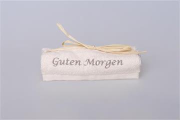 """Lavette: """"Guten Morgen"""" - Lavette crème - Guten Morgen"""