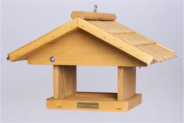"""Vogelfutterhaus """"Emmental klein"""" Schindeln"""